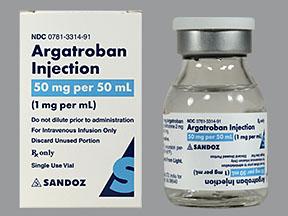 آرگاتروبان Argatroban