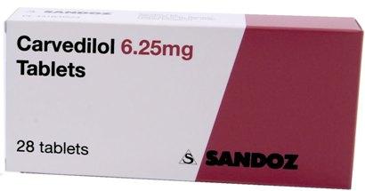 کارودیلول Carvedilol