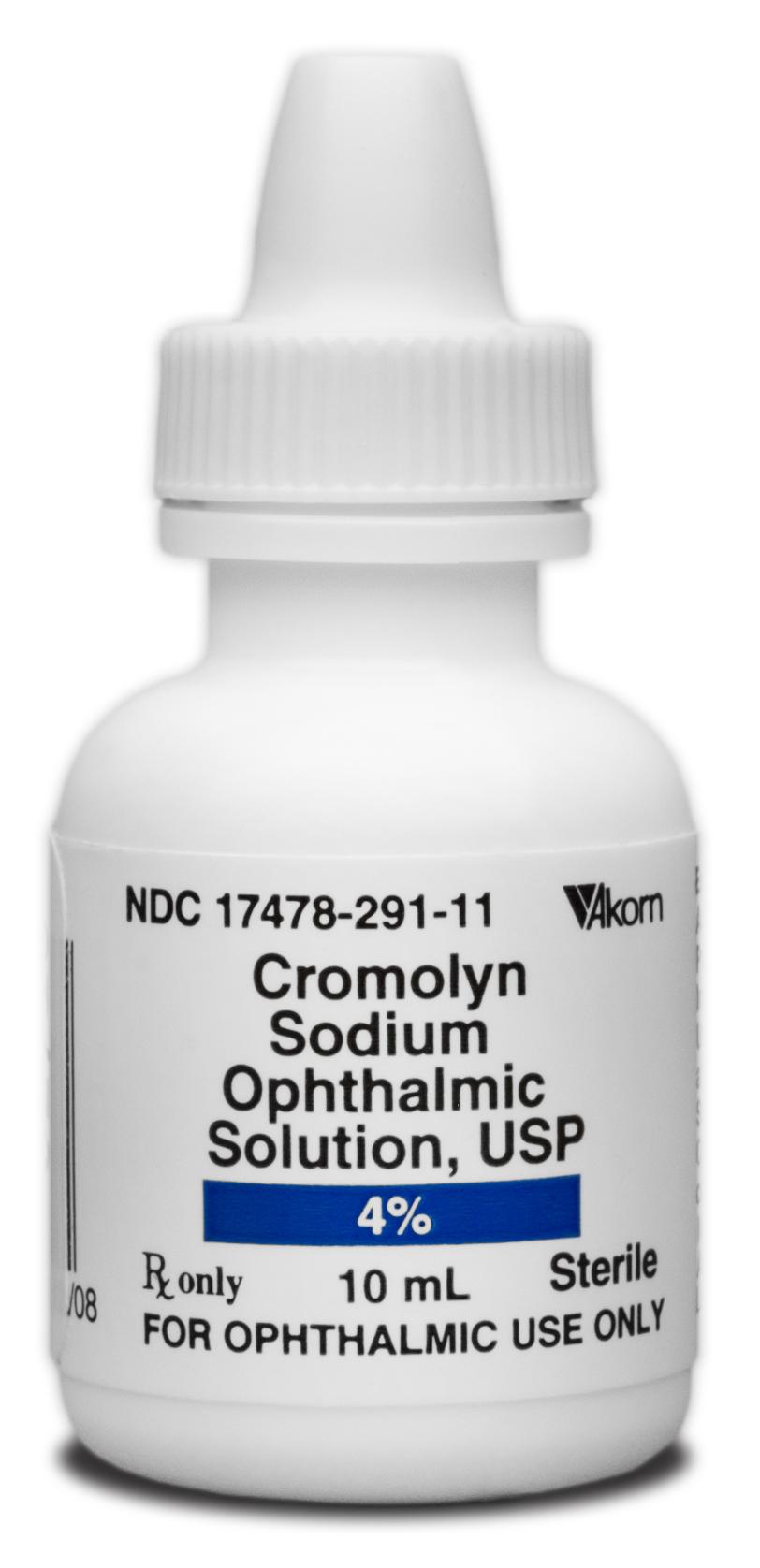 كرومولين سدیم Cromolyn Sodium