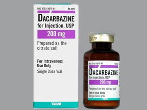 داکاربازین Dacarbazine