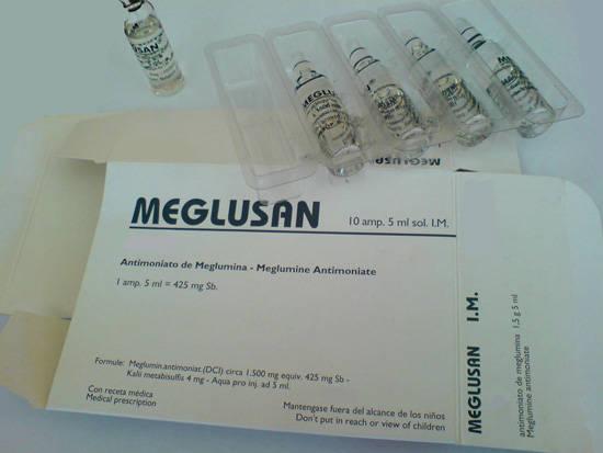 مگلومین آنتیمونات Meglumine Antimonate