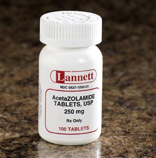 دارو استازولاميد Acetazolamide