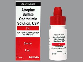 دارو آتروپین سولفات چشمی Atropine Sulfate-Ophthalmic