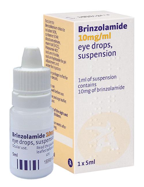 دارو برینزولاماید Brinzolamide