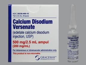 دارو کلیسم دی سدیم ادتا Calcium Disodium Edetate