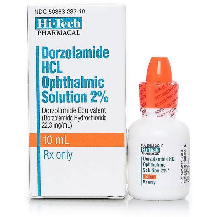 دارو دورزولاميد Dorzolamide