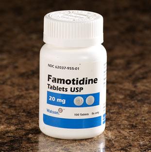 دارو فاموتيدين Famotidine
