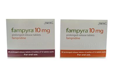 دارو فامپریدین Fampridine