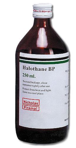 دارو هالوتان Halothane
