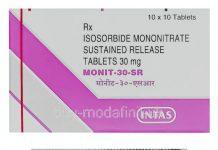 دارو ایزوسورباید منونیترات Isosorbide Mononitrate