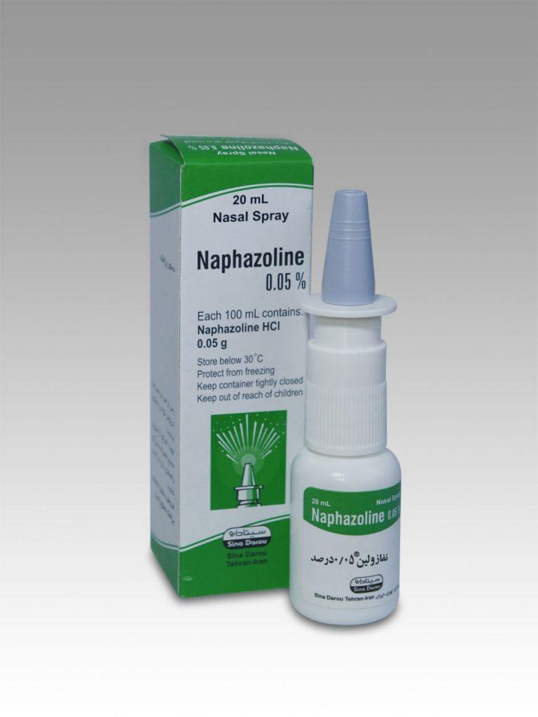 دارو نفازولين Naphazoline