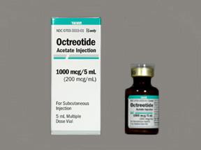 دارو اوکترئوتاید استات Octreotide Acetate