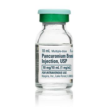دارو پانکرونیوم بروماید Pancuronium Bromide
