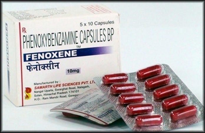 دارو فنوکسی بنزامین Phenoxybenzamine