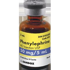 دارو فنیل افرین Phenylephrine