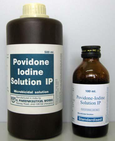 دارو پوویدون ایداید Povidone Iodine