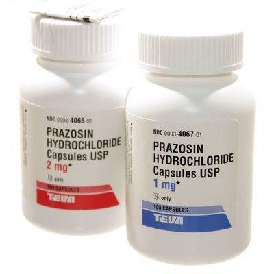 دارو پرازوسين Prazosin