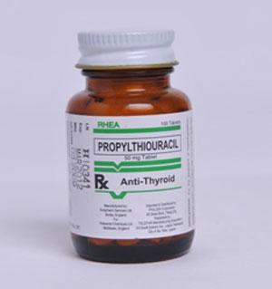 دارو پروپيل تيواوراسيل Propylthiouracil