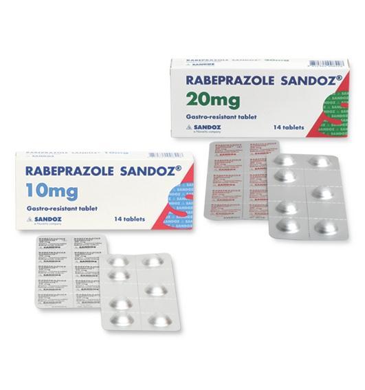 دارو رابپرازول Rabeprazole اشکال دارویی موارد مصرف و