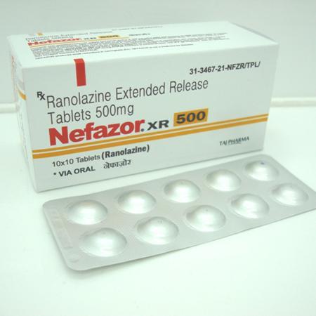 دارو رانولازین Ranolazine