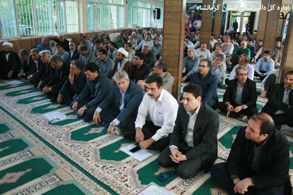 مراسم بزرگداشت اولین سالگرد شهادت دکتر حجت اله نیک عزم در استان کرمانشاه برگزار شد