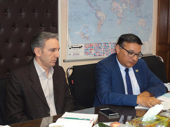 گزارش نشست رئیس سازمان دامپزشکی و معاون مدیرکل سازمان جهانی بهداشت دام