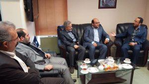دیدار رئیس سازمان نظام دامپزشکی با رئیس جدید سازمان دامپزشکی