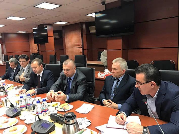 رئیس سازمان دامپزشکی کشور با معاون وزیر کشاورزی و غذای بلاروس گفتگو کرد