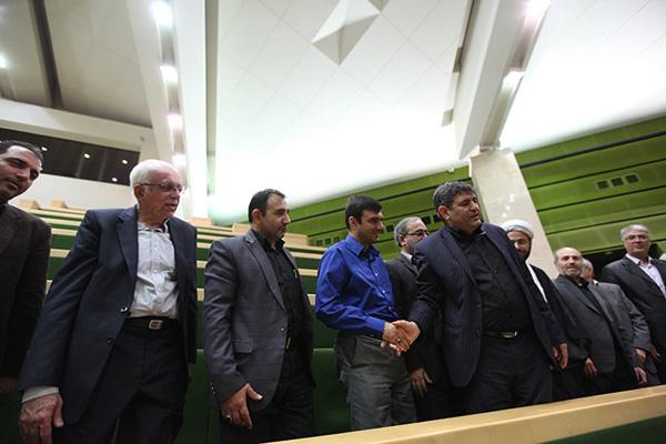 دیدار مدیران و کارکنان سازمان دامپزشکی کشور با نمایندگان مجلس