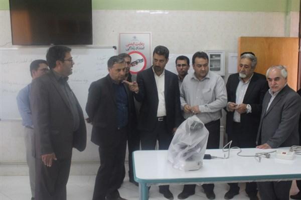 بازدید نمایندگان وزارت علوم از دانشگاه آزاد اسلامی واحد بافت
